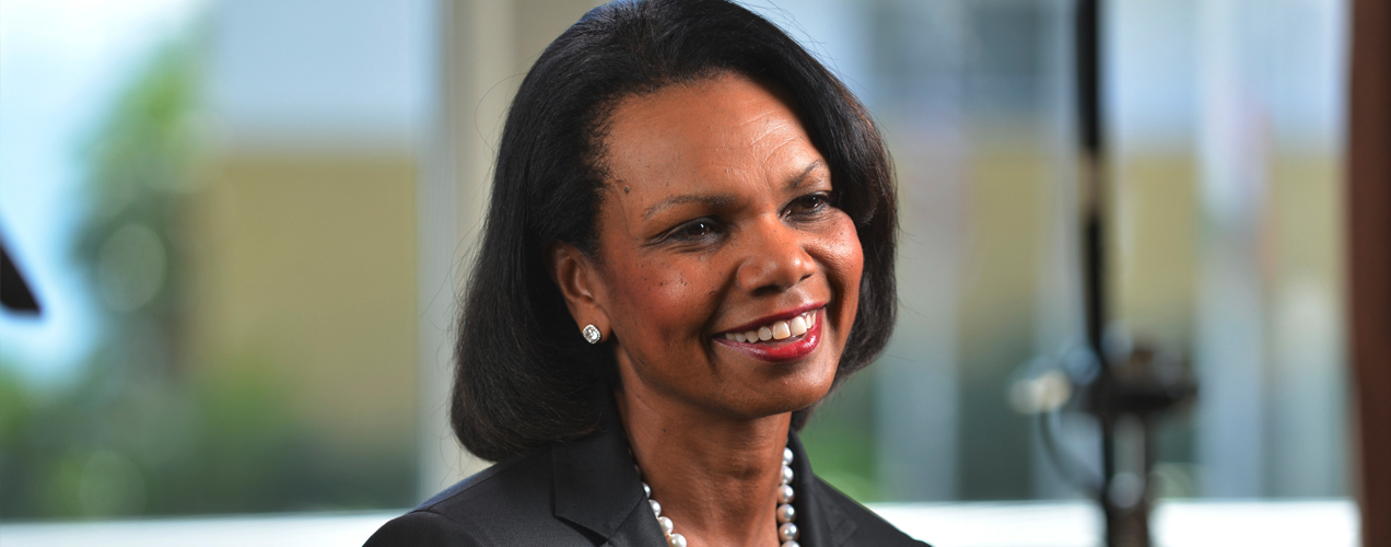 The Earhart Club, Inspired by Condoleezza Rice